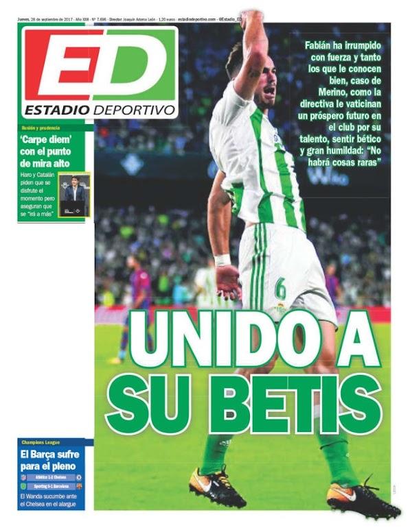 """Betis, Estadio Deportivo: """"Unido a su Betis"""""""