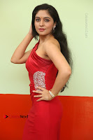 Actress Zahida Sam Latest Stills in Red Long Dress at Badragiri Movie Opening .COM 0046.JPG