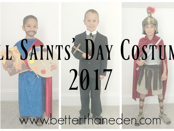 All Saints' Day Costumes 2017