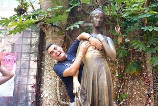 Estatua de Julieta en Verona.
