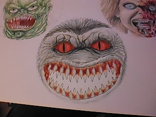 critters horror artwork