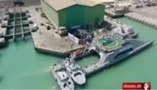 The  Revolutionary Guards Iran have detained a Saudi Arabian fishing boat and also arrested its crew.