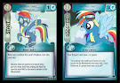 My Little Pony Rainbow Dash, Wonderbolt Defenders of Equestria CCG Card