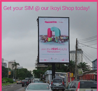 Pickup your ntel Sim here : Lagos Residents Only