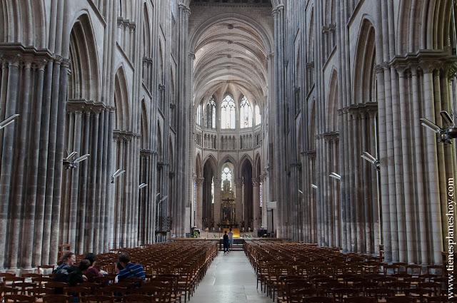 Catedral de Notre-Dame Ruan mas bonita viaje Normandia Francia