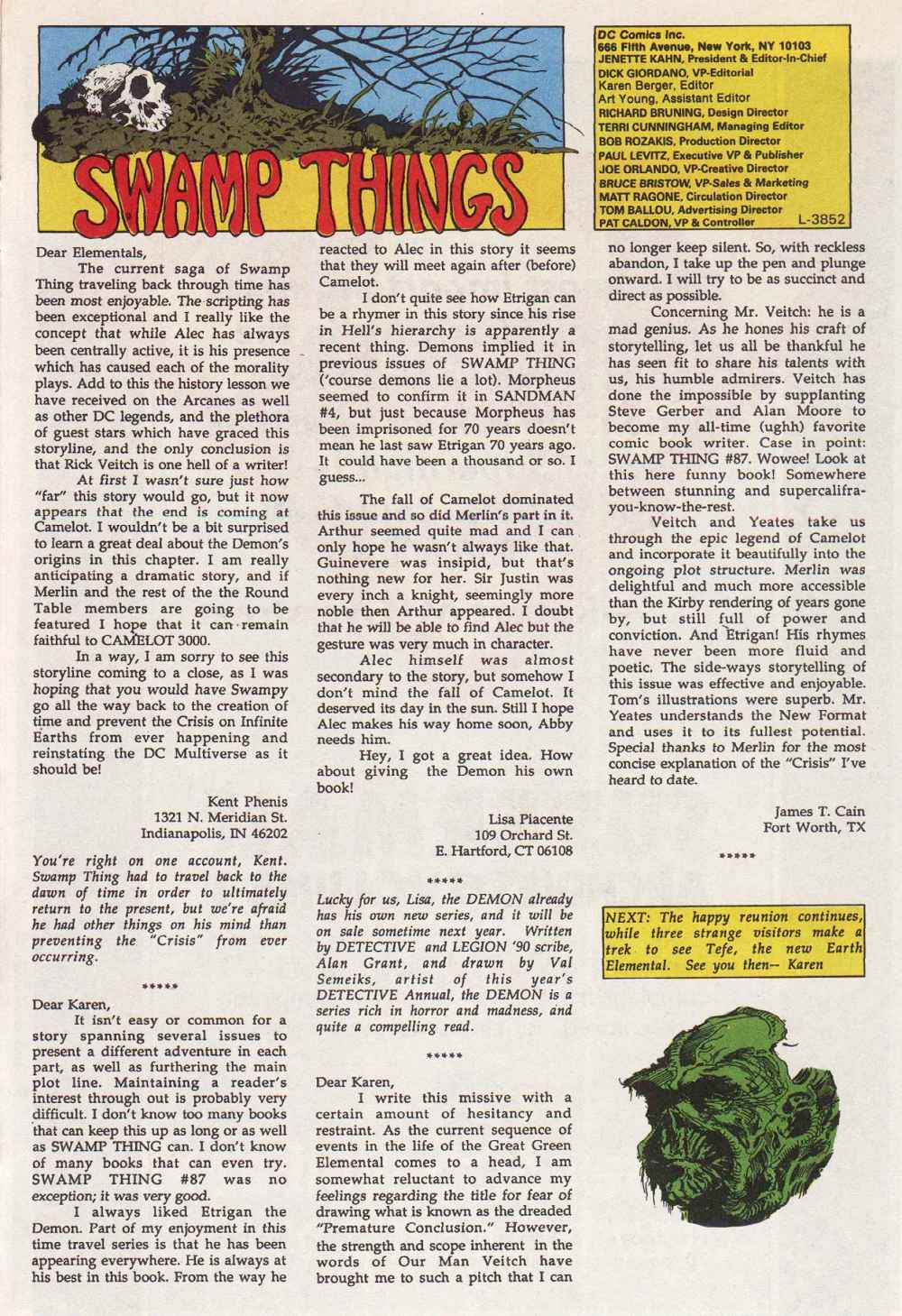 Swamp Thing (1982) Issue #90 #98 - English 25