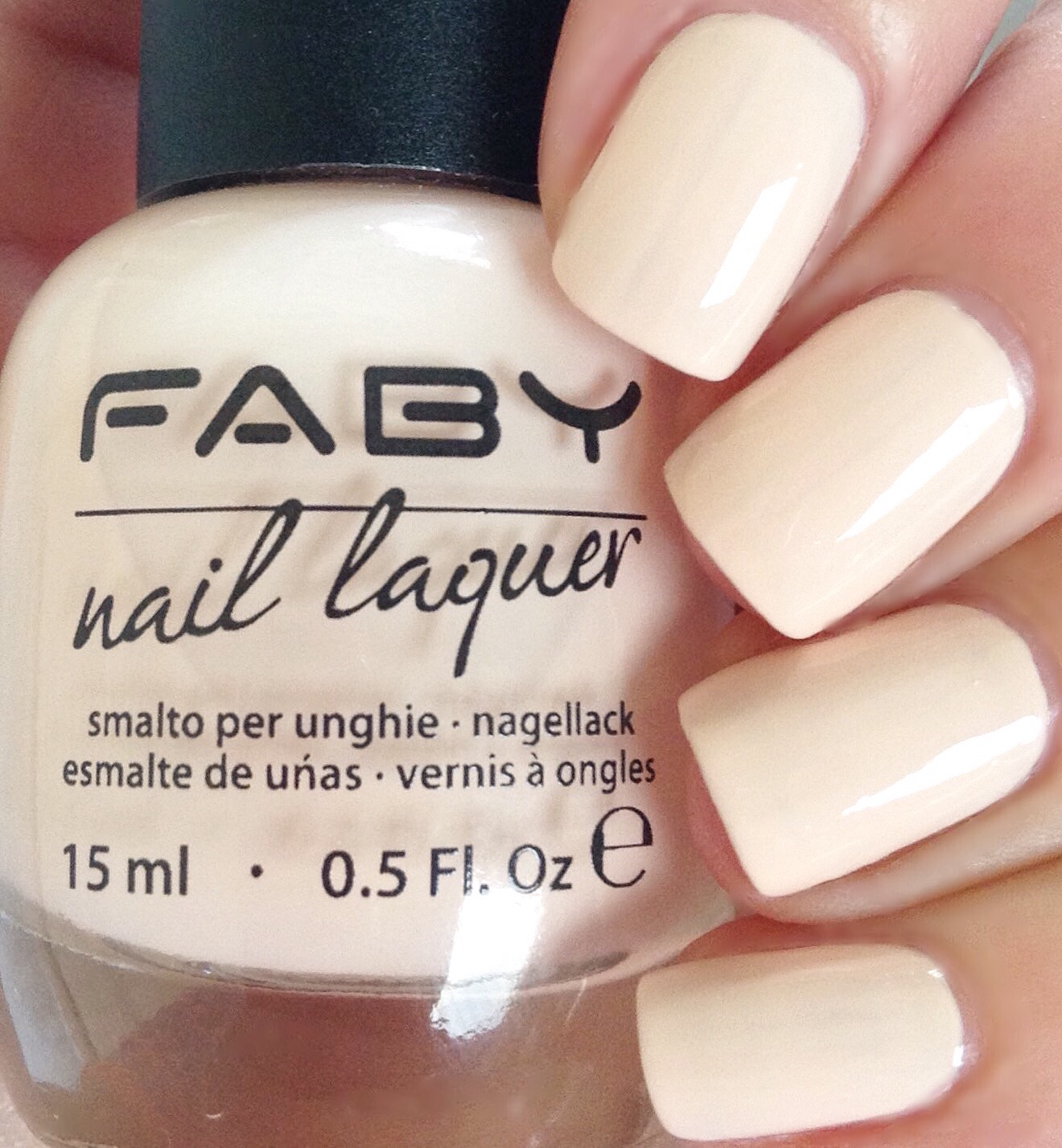 Don\'s Nail OBSESSION!: FABY NAIL LACQUER NEUTRAL SHADES - SWATCHES ...