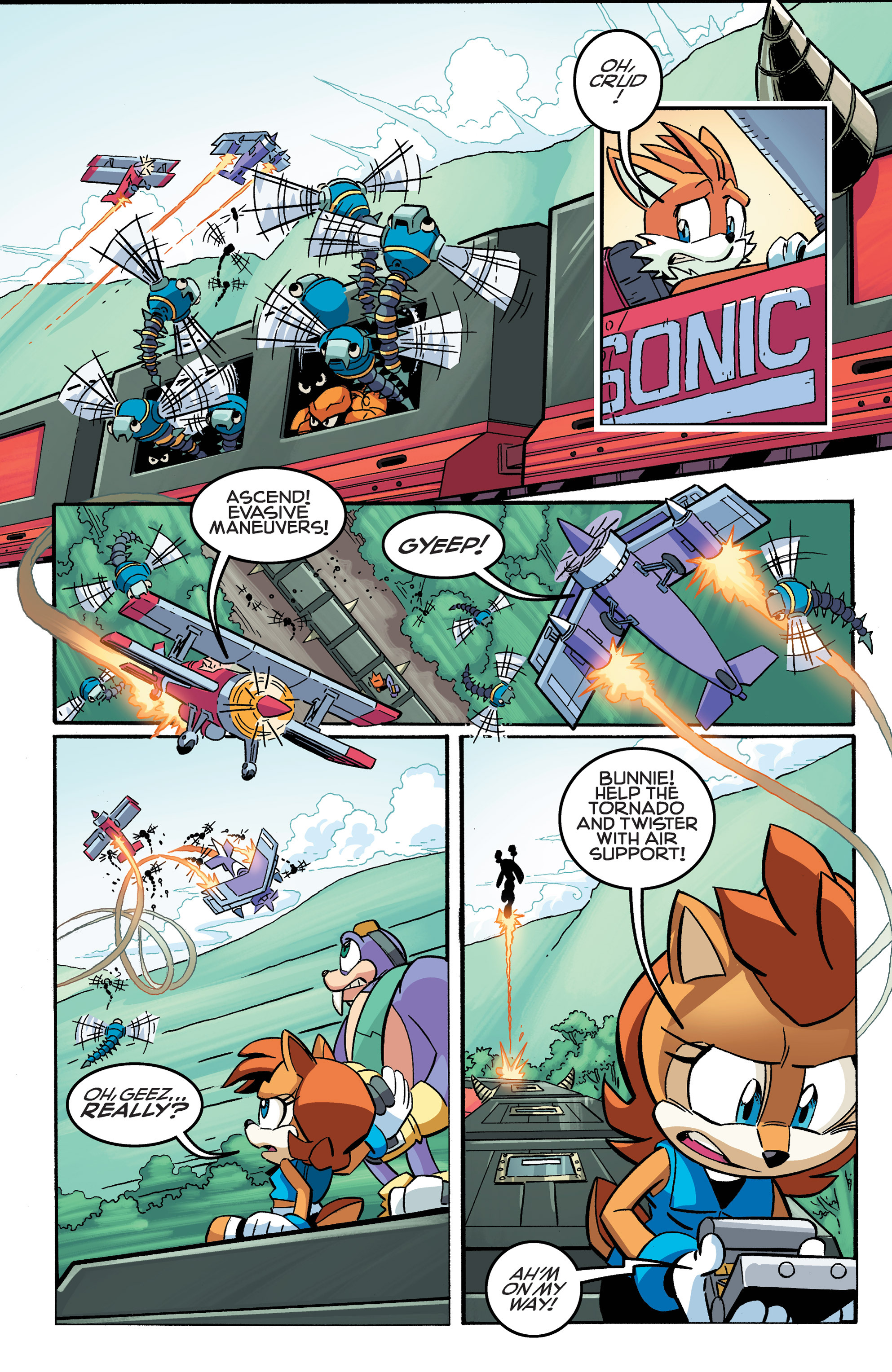 Read online Sonic The Hedgehog comic -  Issue #258 - 17