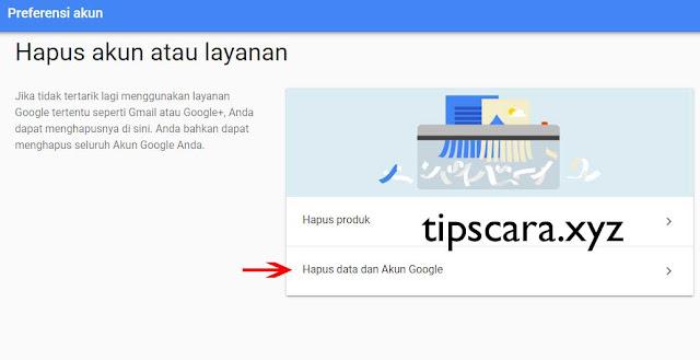 Cara Menghapus Gmail atau Akun Google dengan Mudah 2