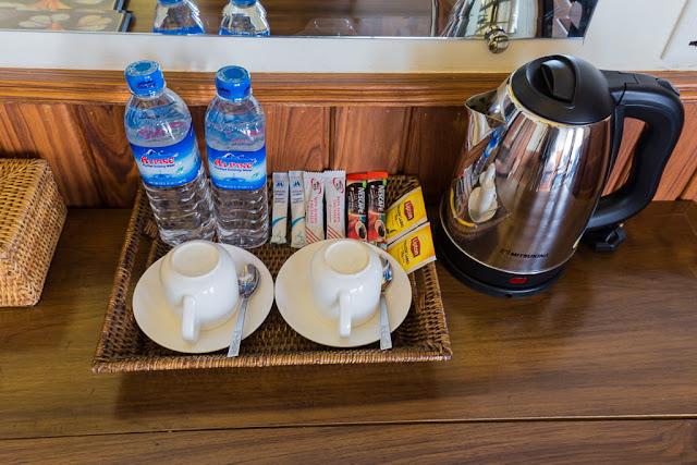 Facilities de la habitación doble hotel Spring Lodge Inle