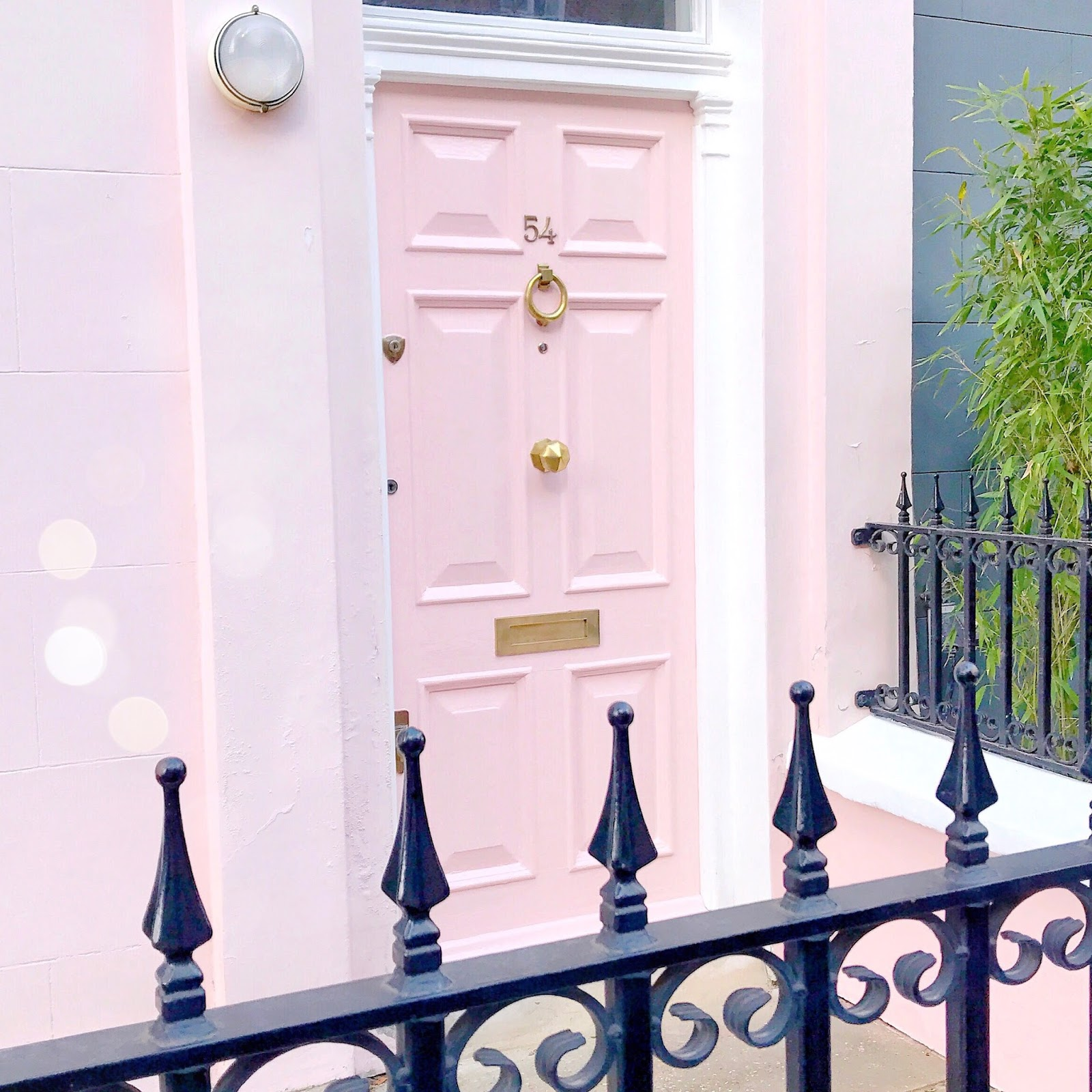 Pink House In Notting Hill | Love, Catherine