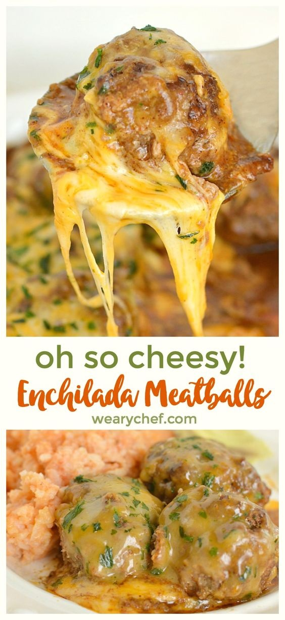 Cheesy Mexican Meatballs