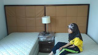 Warih Homestay : Perasmian Pertama Untuk Katil Super Single