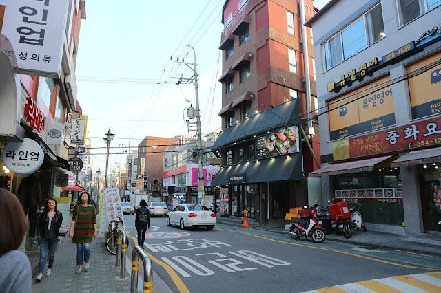 Dạo phố tại Hàn Quốc, mua sắm và thưởng thức những món ăn truyền thống