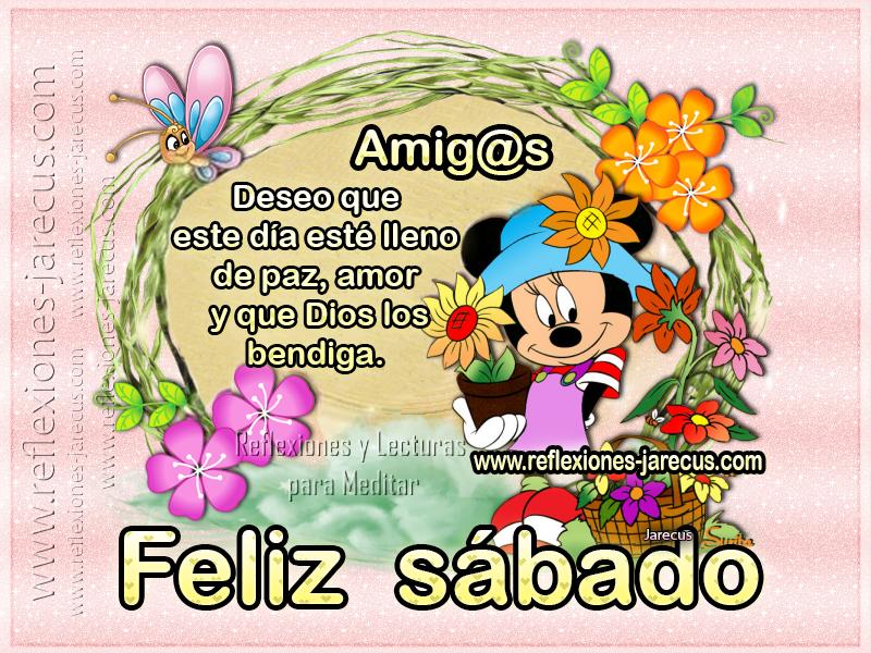 Feliz sábado ✅Amigos, deseo que este día esté lleno de paz, amor y que Dios los bendiga