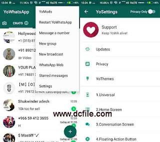 Yo WhatsApp Latest Version v7.51 APK Free Download 2018