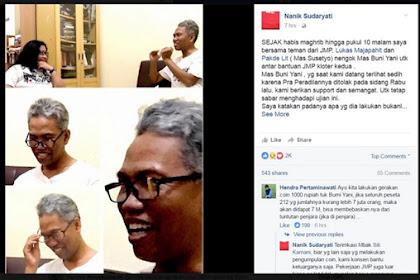 Difitnah Demi Uang 1 Miliar, Buni Yani: Masya Allah Kejam Banget, Gagang Kacamata Saya Aja Ditali Karet