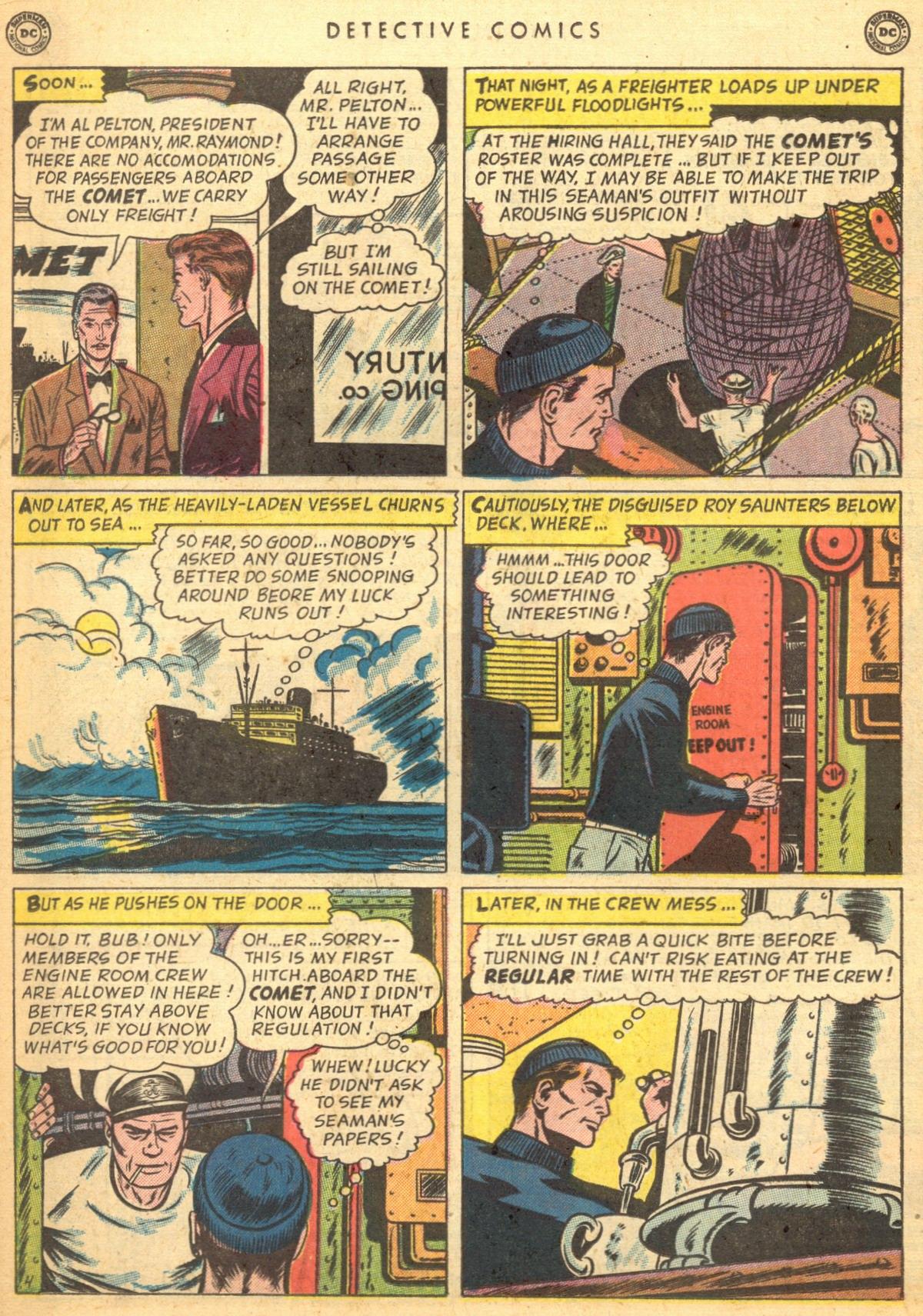 Read online Detective Comics (1937) comic -  Issue #170 - 20
