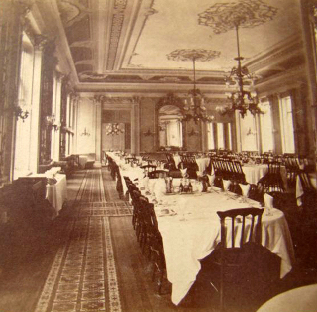Hotel Dining Room: Rare Photos Of American Hotels From Between The 1860s And