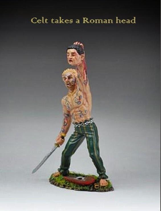 Celtic Headhunter, Thomas Gunn Miniatures, Wiltshire