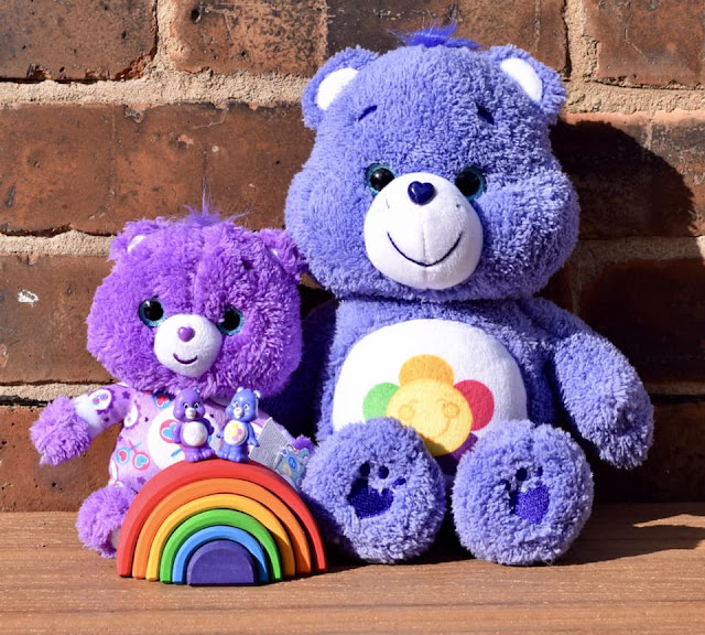harmony bear and share bear with mini grimms rainbow