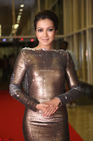 Actress Catherine Tresa in Golden Skin Tight Backless Gown at Gautam Nanda music launchi ~ Exclusive Celebrities Galleries 072.JPG