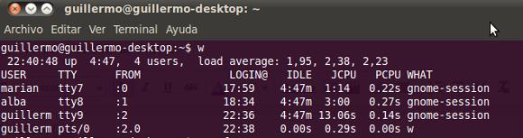 Ver sesiones abiertas en Linux y cerrar procesos desde la terminal - LinuxAll