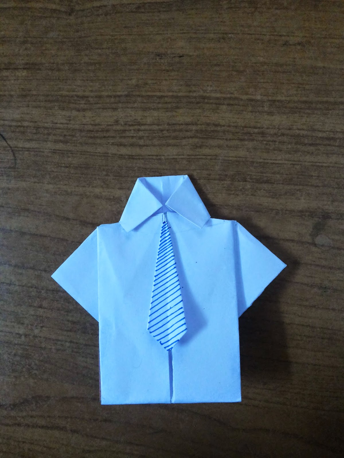 How to make a Paper shirt and tie? (easy origami) - YouTube | 1600x1200