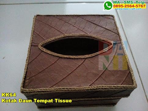 Jual Kotak Daun Tempat Tissue