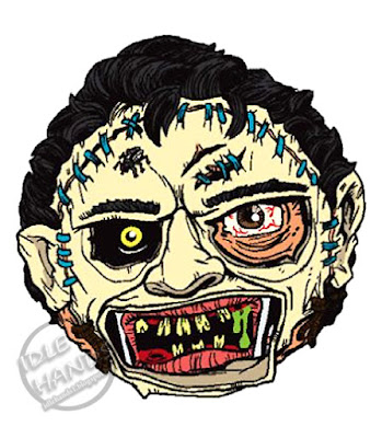 kidrobot Madballs Horrorballs Texas Chainsaw Massacre Leatherface