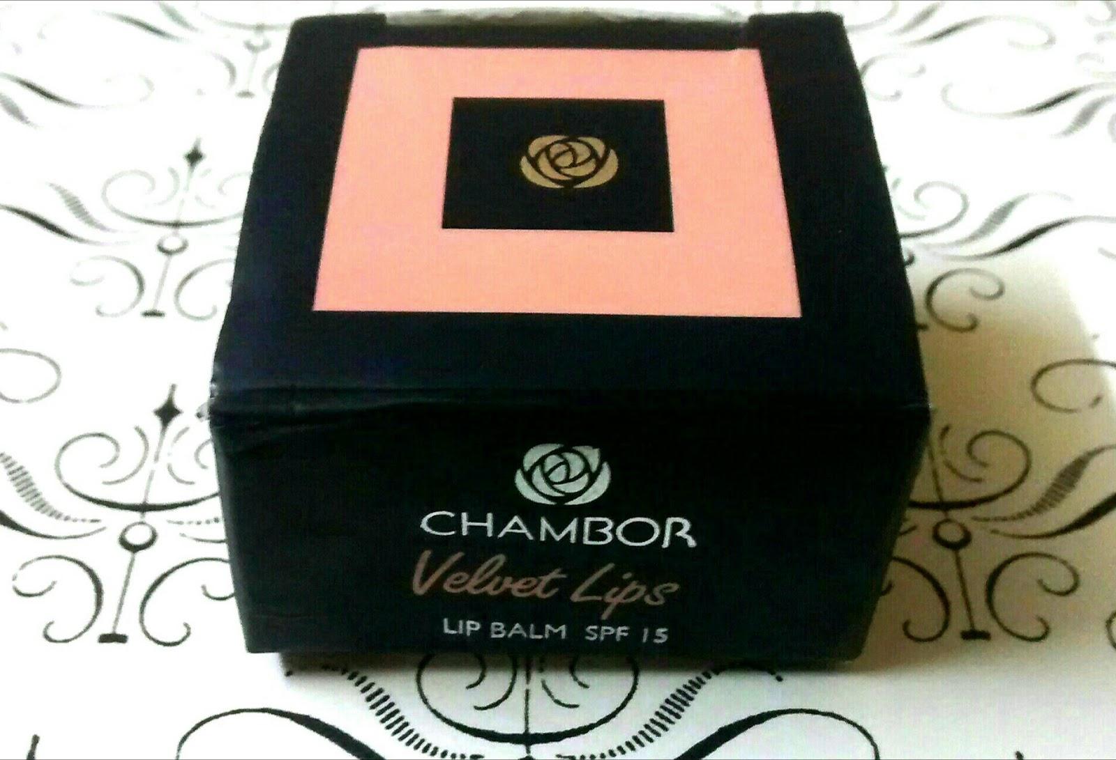 Chambor Velvet Lips Lip Balm SPF 15