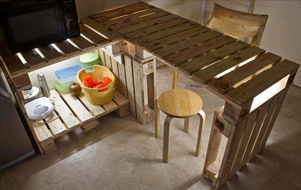 Do It Yourself Furniture Ideas: 26 Creative Furniture Designs From Old Pallets