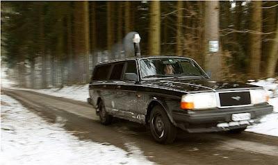 Swiss Man Installs Wood Burning Stove In Car Damn Cool