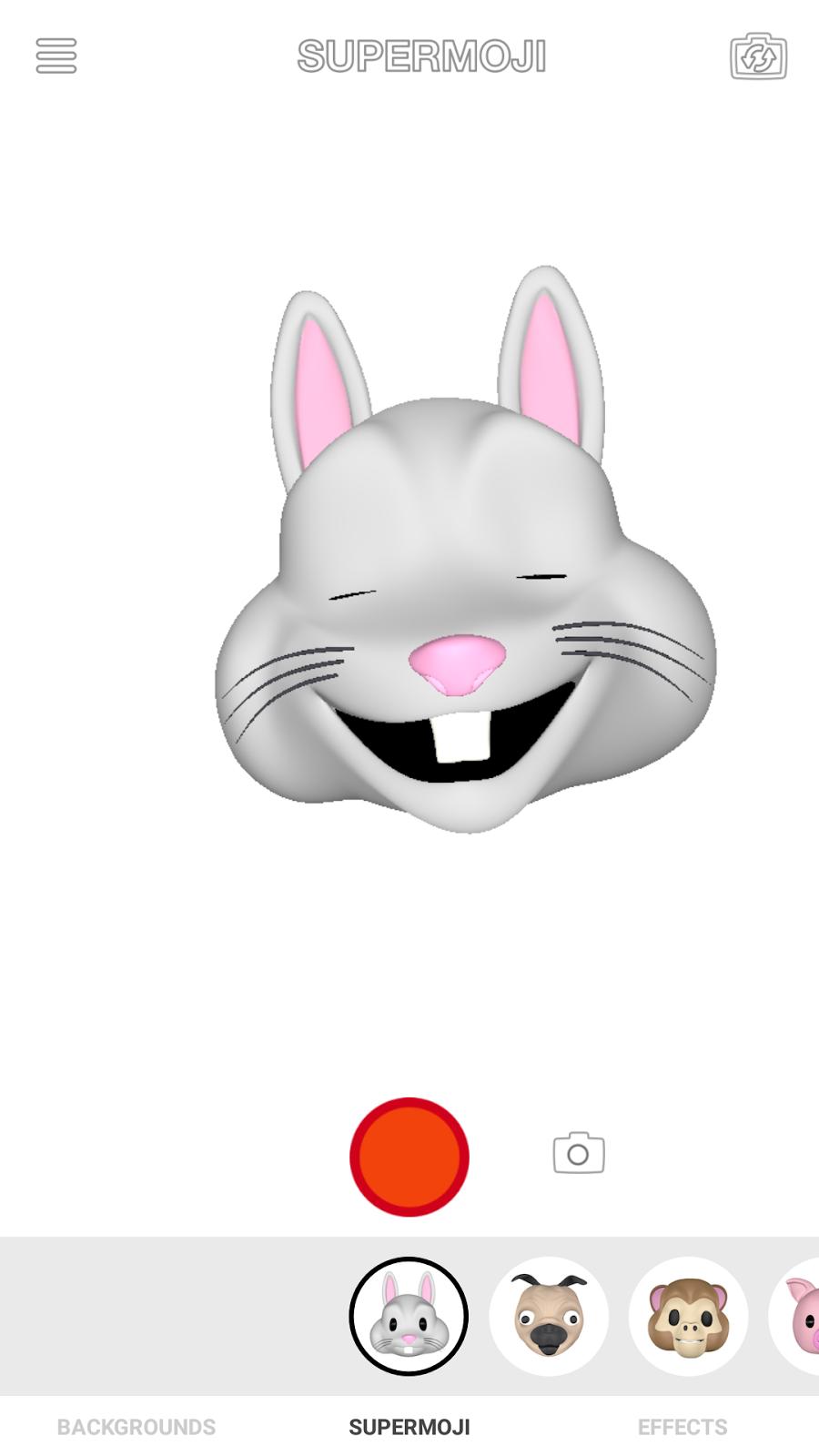 Rabbit Supermoji