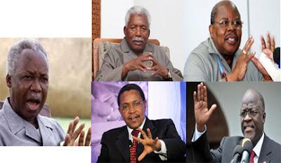 Waheshimiwa, Mwalimu, Mzee Ruksa, Ben, Jakaya na Magu