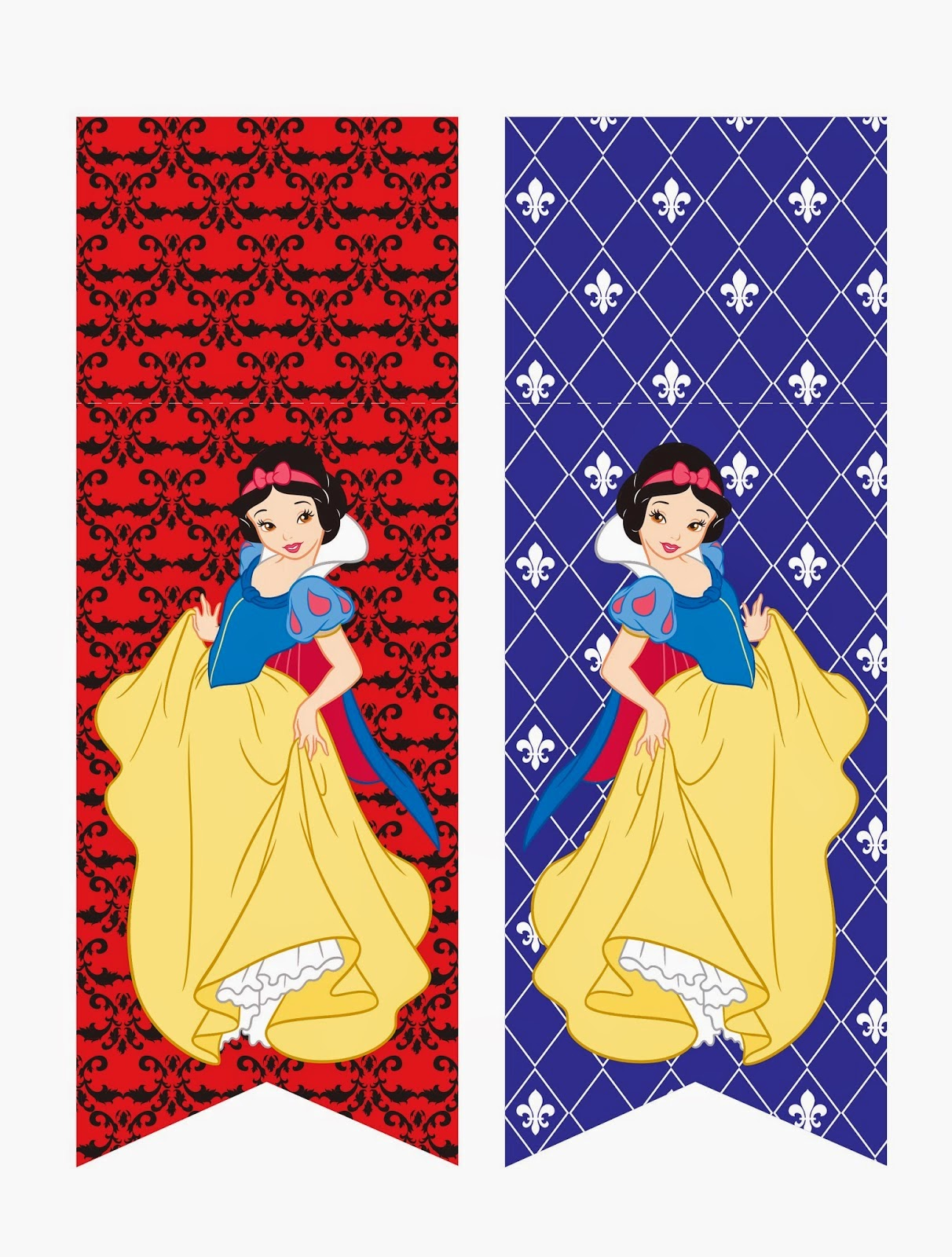 Sweet Snow White Free Printable Mini Kit