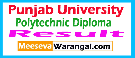 Punjab Polytechnic Result 2017