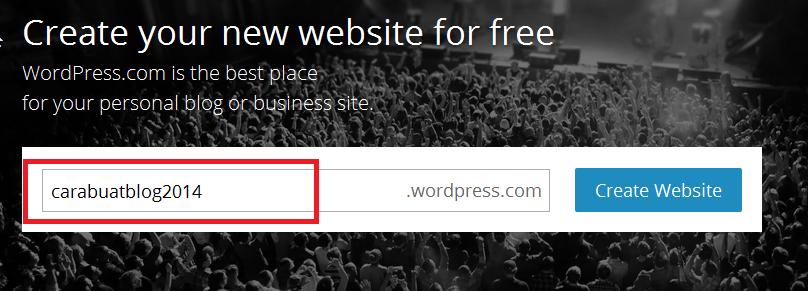Cara Mudah Membuat Blog di Wordpress Bagi Pemula