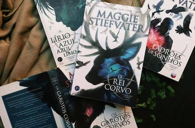 Resenha de O Rei Corvo. A Saga dos Corvos por Maggie Stiefvater
