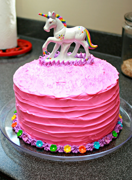 Unicorn Birthday Cake Walmart
