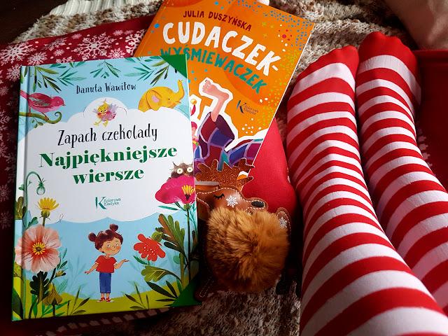 książeczki dla dzieci - Wydawnictwo GREG - Cudaczek Wyśmiewaczek - Julia Duszyńska - Zapach czekolady. Najpiękniejze wiersze - Danuta Wawiłow - Kolorowa Klasyka - lektury dla klas 1-3 - lektury szkolne - jak zachęcić dziecko do czytania