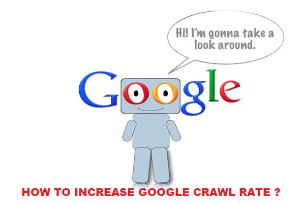 Increase google crawl rate