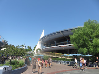 Tomorrowland Carousel theater Disneyland