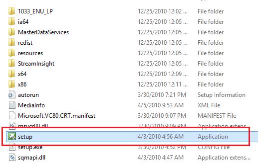 Install SQL Server 2008 r2 on Windows 8 1 Step By Step