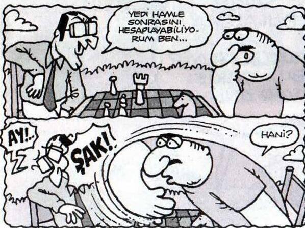 yeni hamle sonrası karikatür