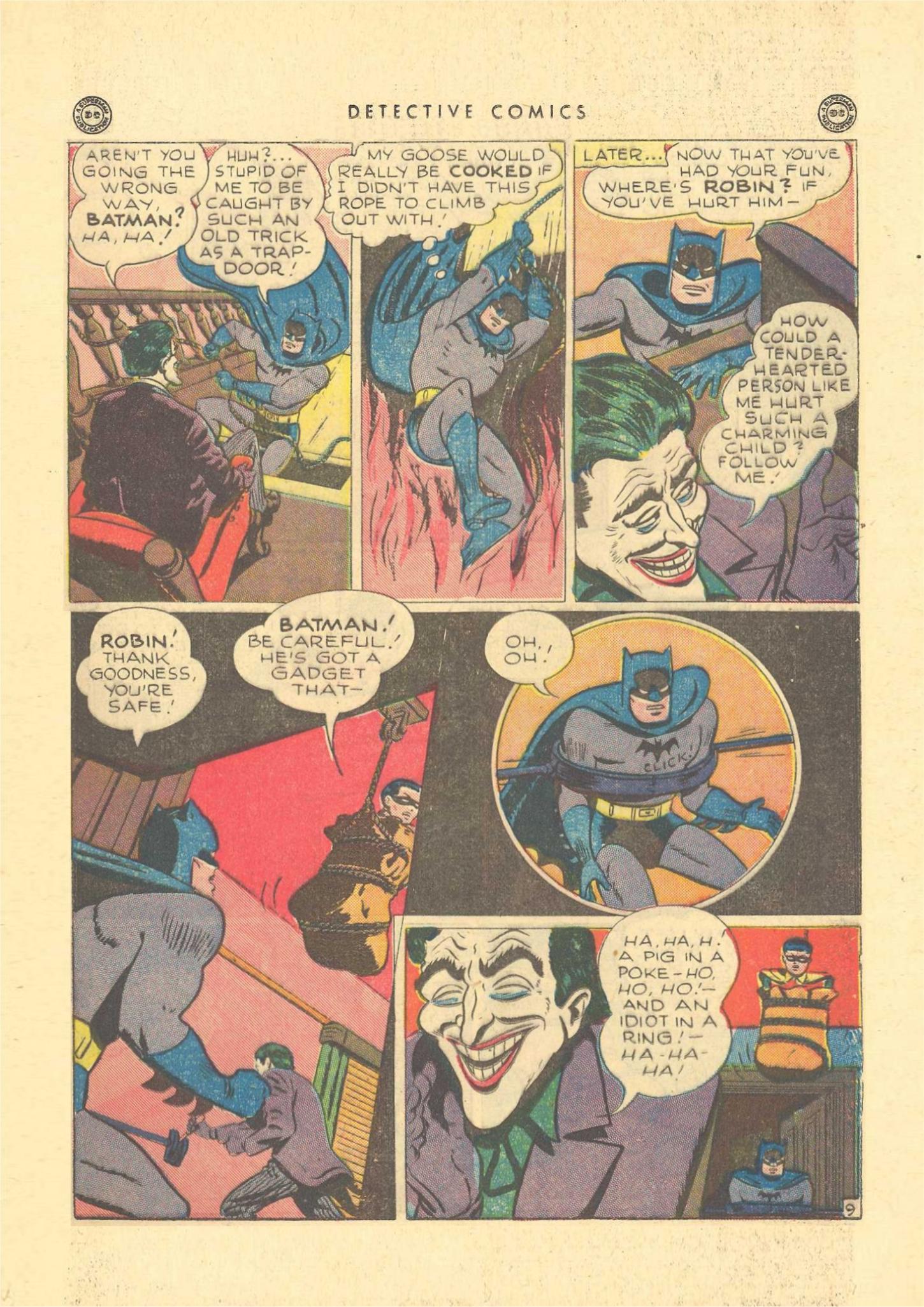 Read online Detective Comics (1937) comic -  Issue #109 - 11