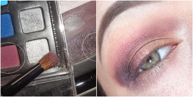 Sombra roxa escura do trio Lohner da paleta Starry Eyes da Kat Von D