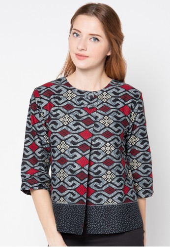 35+ Model Baju Batik Atasan 2018: Simple, Casual & Modern