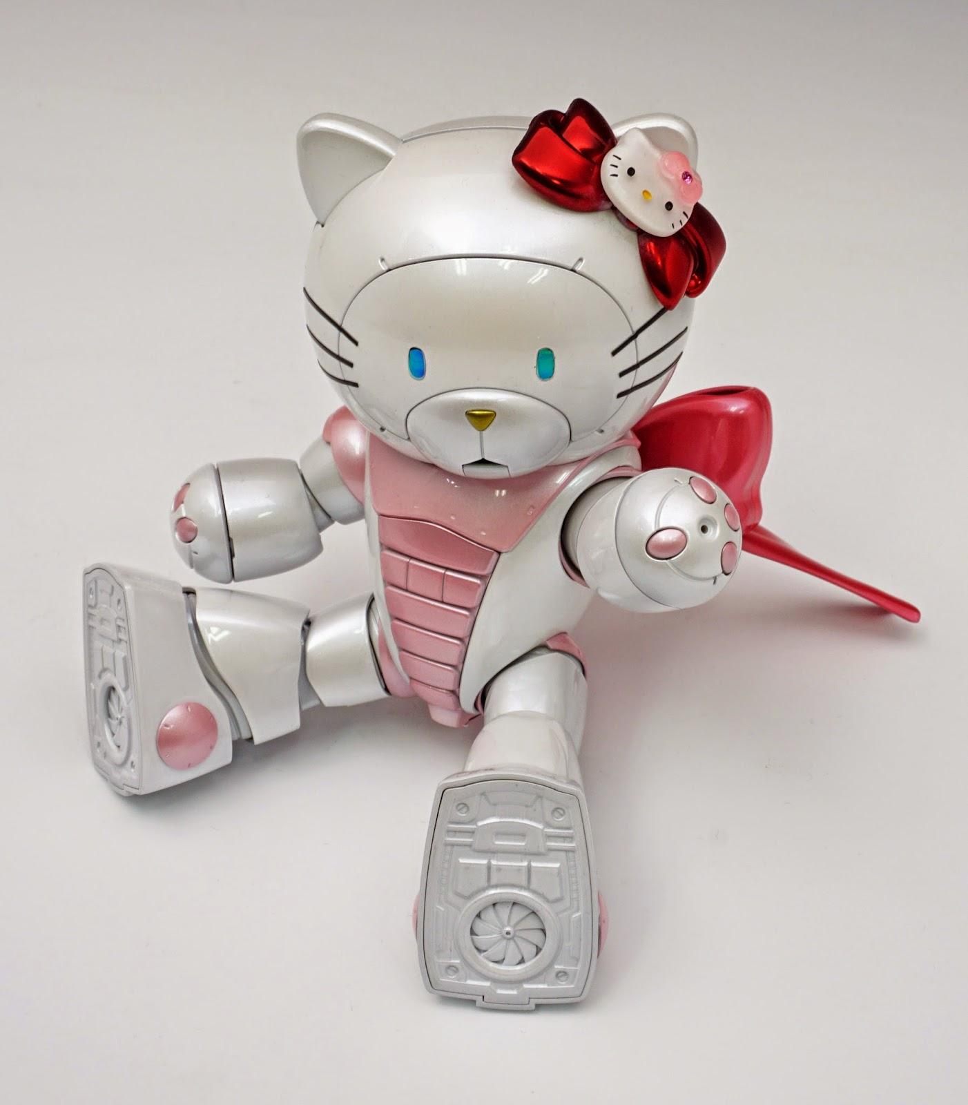 GUNDAM GUY: HGBF 1/144 BearGGuy III [Hello Kitty Ver