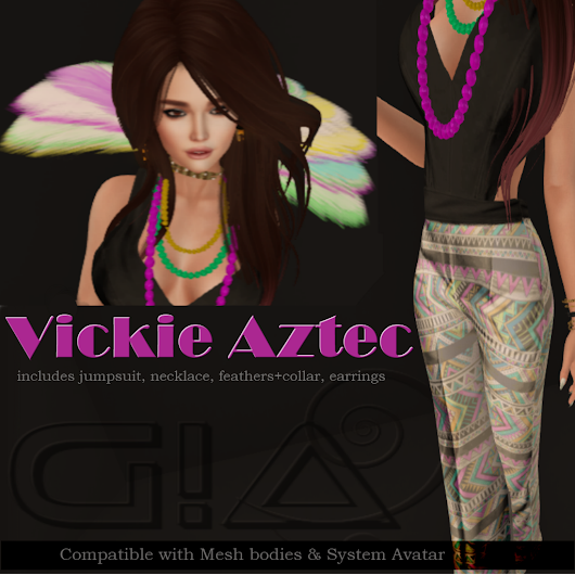 Vickie Aztec Outfit Group Gift